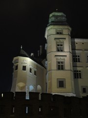 Wawel Royal Castle, Krakow (Stewie1980) Tags: tower castle night canon evening royal poland polska krakow wawel powershot na polen krakw cracow krakau zamek lightened krlewski sx130 wawelu sx130is canonpowershotsx130is