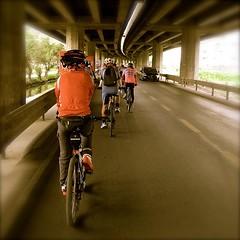 [ใต้ทางด่วน] เมื่อ ครม. มีมติให้ความสำคัญกับการเดินและใช้จักรยานออกมาแล้ว มีพื้นที่ใต้ทางด่วนมากมายหลายเส้น ที่สามารถนำมาปรับปรุงพัฒนา ให้เป็นเส้นทางจักรยาน คงช่วยเป็นแรงผลักส่งเสริมให้มีผู้ใช้จักรยานเพิ่มมากขึ้นได้อีกเยอะ นะครับ