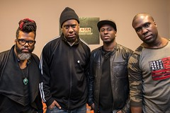 A Day In The Life: Robert Glasper  Paste Magazine (Doug Seymour) Tags: world life november blue 2 black records robert by radio magazine 22 cafe day photos live paste doug experiment award queen note winner delaware behind wilmington seymour scenes grammy the in glasper 2013 a of