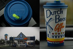 Dutch Bros in Oregon (SeimenBurum) Tags: usa coffee dutch true proud oregon us vision:outdoor=0913