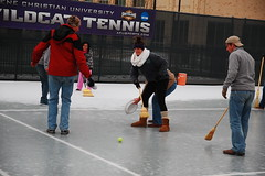 Slippery when icy (radargeek) Tags: winter ice hockey weather frozen texas tx freeze abilene wildcats acu abilenechristianuniversity
