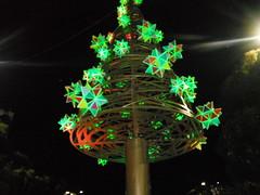MERRY CHRISTMAS TREE (RubyGoes) Tags: christmas blue red green yellow stars sydney australia christmastree nsw darlinghurst darlo 2013 taylorsq