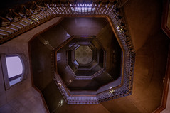 Spiral Me Up, Scotty (callmeflea) Tags: city vortex philadelphia up stairs canon spiral cityscape cityhall staircase helix philly sigma1224mm spiralstaircase phillycityhall sigma1224 cityofbrotherlylove philadelphiacityhall spiralling canon5dmarkii