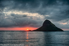 Hawaiian Sunrise (Kukui Photography) Tags: park sunrise hawaii oahu hdr regional kualoa kualoaregionalpark