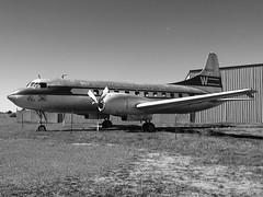 Western Airlines Convair CV-240-1 (George Baritakis) Tags: airplane aviation valle retro western convair