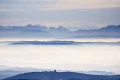 Bavarian Forest & The Alps (Aerial Photography) Tags: alps by lands