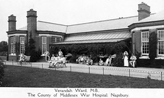 Napsbury, Verandah, Ward M.B. (robmcrorie) Tags: history hospital britain patient medical health national doctor nhs service medicine british nurse healthcare illness infiormary