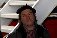 Dirk in zijn element tijdens de rondleiding 2014/01/18 14:20:40