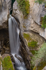 Upper Falls at Maligne Canyon (thephantomhennes) Tags: water rockies jasper canadian canyon falls hennes maligne