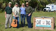FP224 release 18 (MyFWCmedia) Tags: usa florida wildlife release groupphoto panther commissioner 2014 fwc floridapanther floridafishandwildlife myfwc pambondi myfwccom ronbergeron injuredpanther fp224