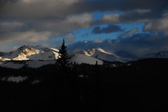Mountain Weather (Let Ideas Compete) Tags: trip winter mountain snow mountains colorado view snowy rocky hut snowshoeing rockymountains aspen range margys margyshut