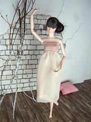 Ballet Afternoon - Elizabeth (Levitation_inc.) Tags: ballet fashion model ballerina doll handmade ooak barbie levitation muse clothes poppy etsy royalty parker pivotal nuface