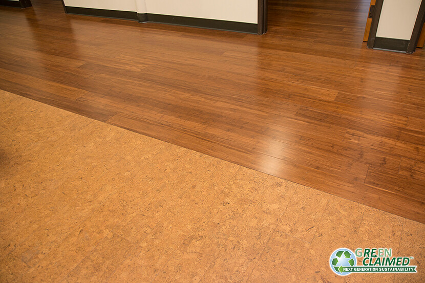 Cork flooring that looks like wood planks gurus floor for Cork flooring kitchen reviews