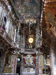 Asamkirche (JohannFFM) Tags: münchen und altar decke asamkirche