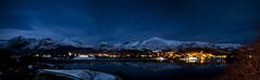 Llanberis by Moonlight (Paul Sivyer) Tags: moon snowdon llanberis snowdonia llynpadarn moeleilio paulsivyer wildwalescom
