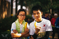 Standard Chartered Hong Kong Marathon 2015 (Ghettowill) Tags: street race umbrella hongkong 50mm nikon soft bokeh box marathon flash hong kong standard chartered 2015 d600 14g sb900 blackrapid pbhk hkig