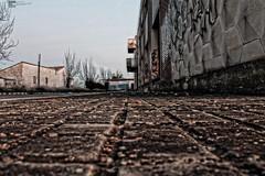 HDR (kike afuego) Tags: de edificio construccion campo urbano asfalto hdr abandonado creativo profundidad