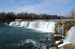 Grand Falls (Adventurer Dustin Holmes) Tags: water waterfall missouri shoalcreek grandfalls 2015 joplinmissouri joplinmo