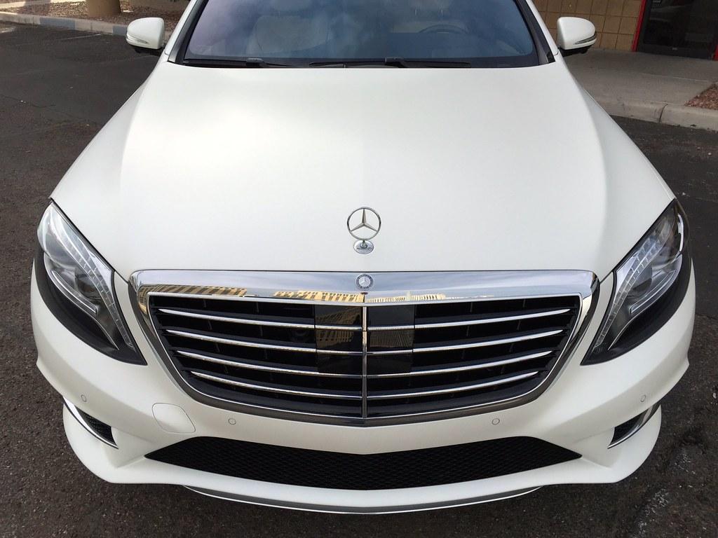 2015 mercedes s550 matte paint protection film for Mercedes benz matte paint