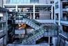 Courtyard (hidesax) Tags: urban glass japan architecture buildings tokyo nikon raw escalator courtyard shinagawa 24mm nikkor minatoku hdr pce 5xp f35d hidesax d800e