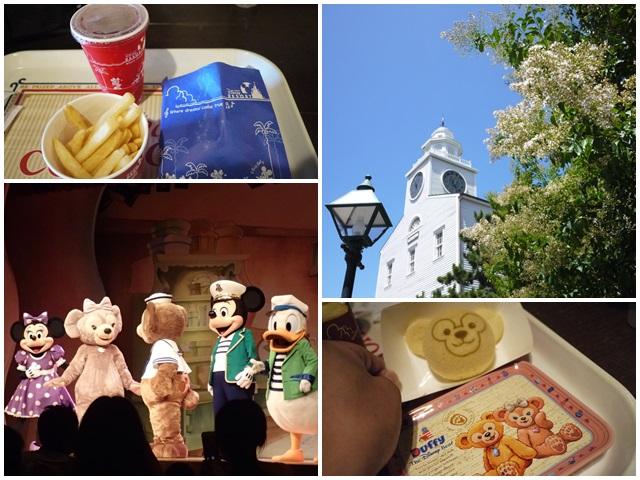 東京迪士尼海洋美食duffy達菲熊午餐秀gelatonipage