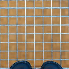 tip toes (RobertsNL) Tags: metallic week30 7daysofshooting unusualpovtuesday