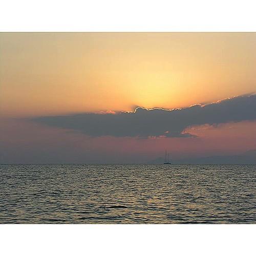 Enjoy your Saturday evening! #ribcruises #sunset #greece #islands