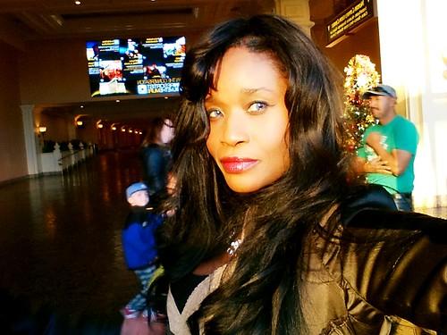 Sabine Mondestin selfie  in Vegas