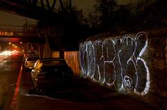 NightBridges: Sren  Night-Pieces BXLV - 170x (Jupiter-JPTR) Tags: cars germany graffiti cologne vehicles colonia nightshots ccaa sren nightvisions jptr streetworks dfv bridgeworks nightbridges nightpieces lightvisions
