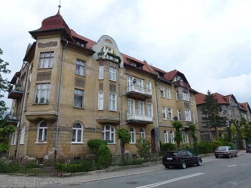 Kamienica (Tabaki 7-9)  w Cieplicach Śląskich-Zdrój