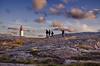 To the Lighthouse (Nespyxel) Tags: sunset sky lighthouse rock clouds landscape faro sweden svezia smogen vastragotaland nespyxel stefanoscarselli
