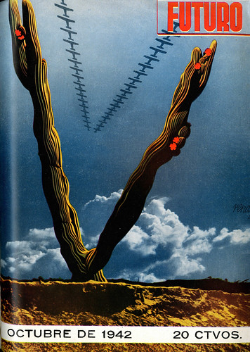 Portada de Josep Renau Berenguer para la Revista Futuro (octubre de 1942)