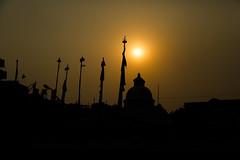 Sunset in Kathmandu (gthulin) Tags: nepal asia mount kathmandu everest bazar lukla namce
