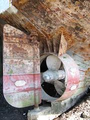 Old Fishing boat 2 (Darren..) Tags: marina canon is powershot fleetwood sx200