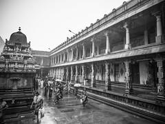 Cultural Roots (Ivon Murugesan) Tags: travel people blackandwhite india monochrome architecture temple blackwhite places hindu hinduism tamilnadu hindutemple chidambaram letsexplore