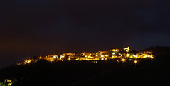 A different kind of silence (Robyn Hooz) Tags: night dark cielo luci toscana scape nero notte citt silenzio scarlino