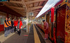 Staff at Wakura-Onsen Station IMG_2745 JR Special train (Recliner) Tags: japan specialtrains