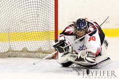 Swindon Topcats v Streatham Storm (Flyfifer Photography) Tags: sport goalie icehockey save goaltender saving goalkeeper netminder rachelmoore swindontopcats rachelpullen womenstrophyweekend season201516