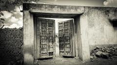 The Ancestral Doors!! (vishalmaru) Tags: gujrat gujarat india jamnagar sika sikka gujrati village life rural ruralindia temple