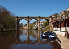 2016_04_0270 (petermit2) Tags: river boat yorkshire railway viaduct knaresborough northyorkshire rowingboat grainger rivernidd thomasgrainger