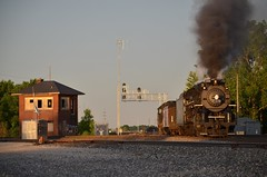 NS 069 - Leipsic, Ohio (Tyler Pate) Tags: steam nikonphotography nkp765 norfolksouthernrailroad leipsicohio leipsicjct nikond7000 ohiorailroad norfolksouthernsteam ohiorails nkprails leipsictower