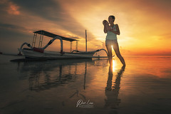 DSC_3390-wm (patlawhl) Tags: bali baby beach sunrise reflections indonesia boat lovely sunrays firstlight motherlove sunlights russianlady patlaw