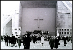 Christ the King cathedral`s opening in 1967 (exacta2a) Tags: religion cathedrals liverpoolmerseyside