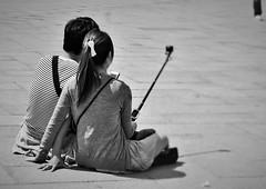 """""""Ti sembra normale, che resti sveglio a corteggiarti per ore?"""" Max Gazz (Mango*Photography) Tags: street people bw white black cute love nice couple photographers lovers relationship photoraphy unusual giulia bergonzoni"""
