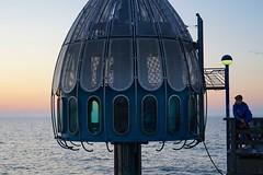 Strand von Zingst  Tauchgondel  Objektiv: Sony FE 50mm 1.8 (franz-wegener.de) Tags: zingst angler seebrcke tauchgondel sonya7 sonyfe50mmf18