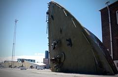 THE BOW (LARSERAQ) Tags: bow marine ship harbor sky blue aarhus denmark jutland sony rx1rm2 35mm f20 carlzeiss sonnar 235 larseraq