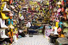 La sieste (Monsieur Gina) Tags: shoes market morocco maroc marrakech souk medina marrakesh souks babouche