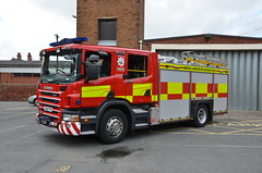 VX62 FYO (Emergency_Vehicles) Tags: rescue station fire service hereford worcester hwfrs vx62fyo