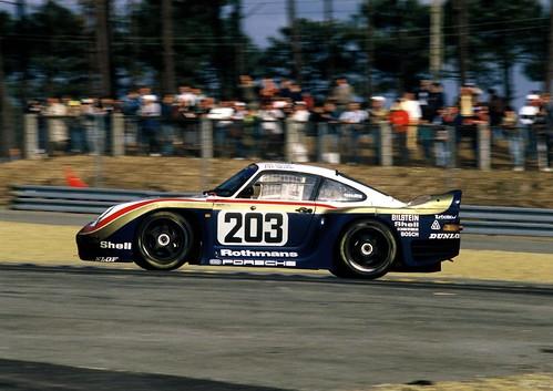 Porsche Typ 961 в Ле-Мане. 1987 год