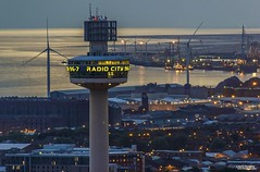 The Talk of the Town (Carl Yeates) Tags: tower liverpool lights view radiocity merseyside